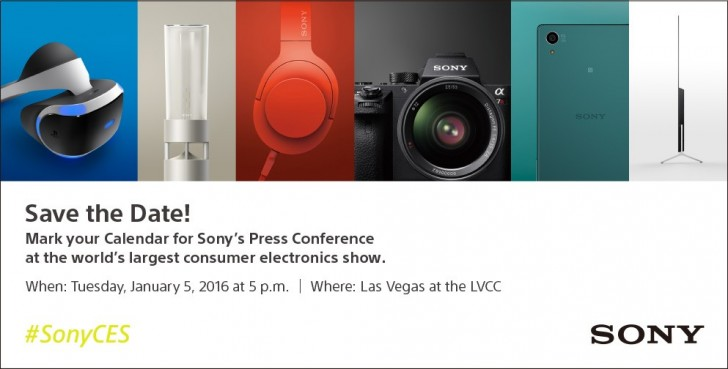 Sony CES 2016 Conference