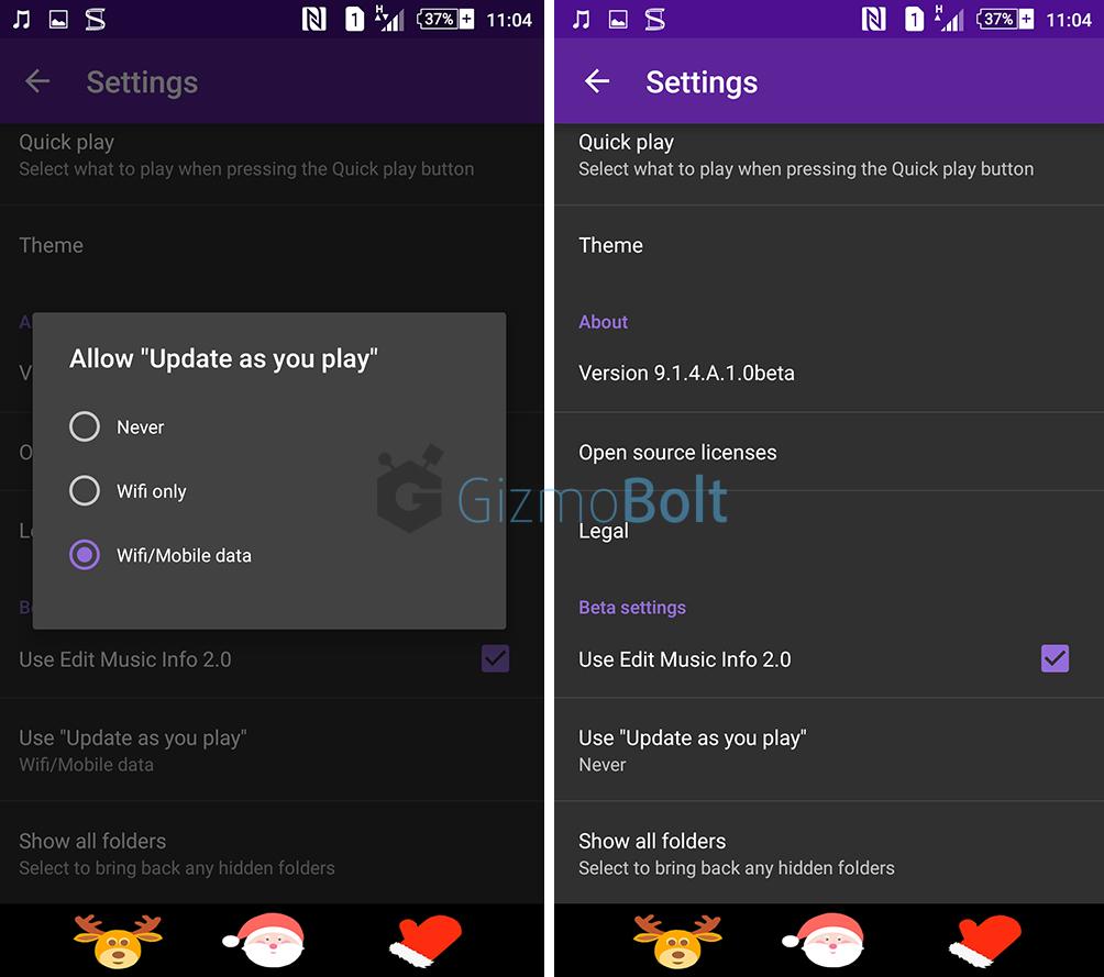 Music 9.1.4.A.1.0 beta app
