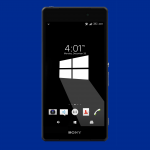 Windows 10 & MASHUP Xperia Themes inspired from Material Design