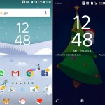 Sony Xperia Christmas Theme – 2015 Santa Claus Edition