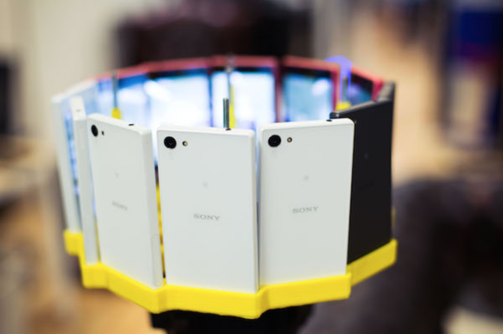 Sony shot world's first 48K 360° video with Xperia Z5 Compact