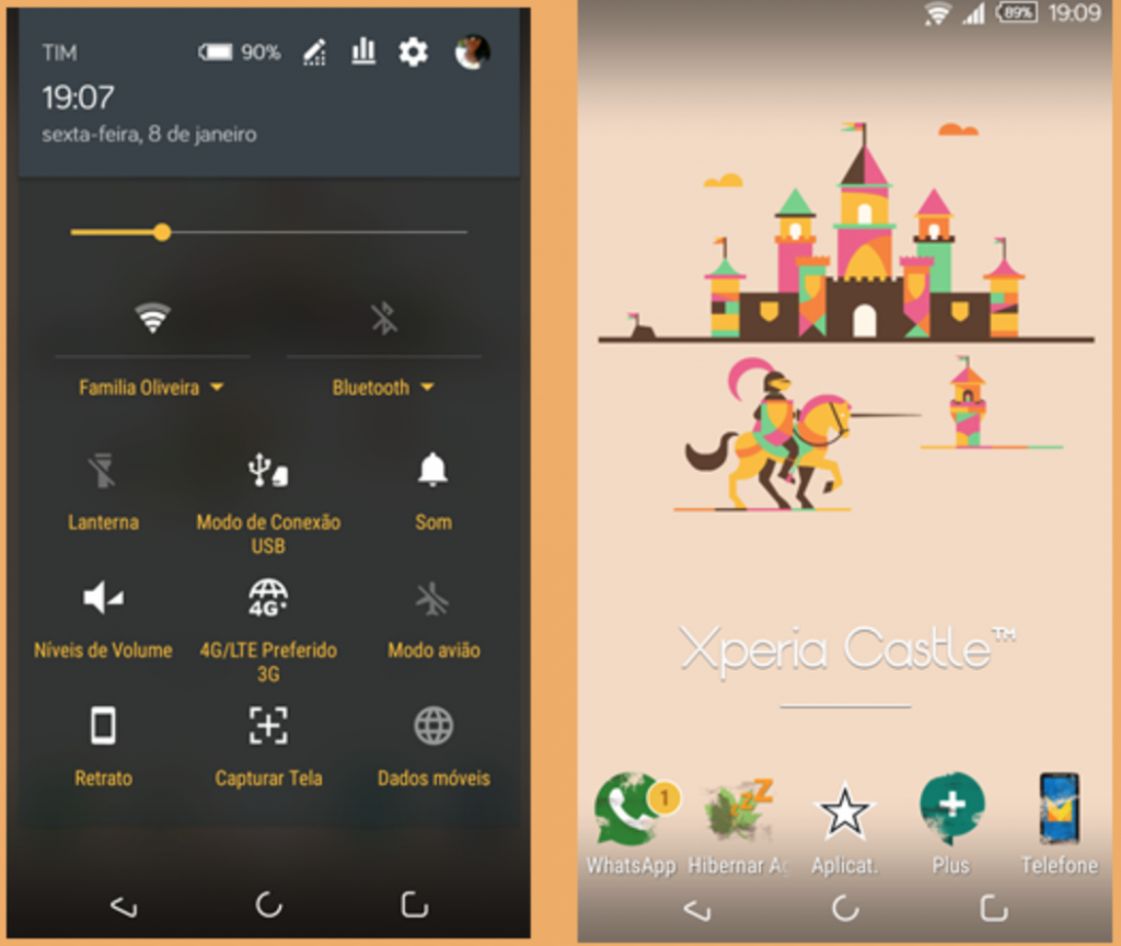 Xperia Castle Theme