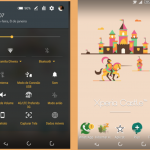 Install Xperia Castle & Twilight Xperia theme