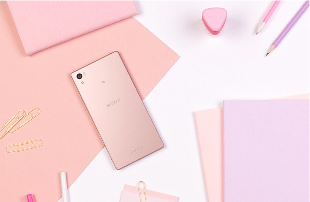 Sony Xperia Z5 in Pink