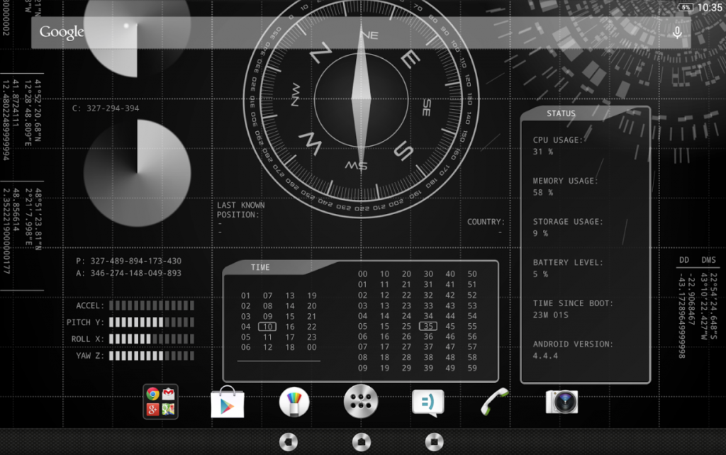 Download Xperia Secret Agent Theme