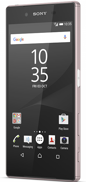 Xperia Z5 Pink front