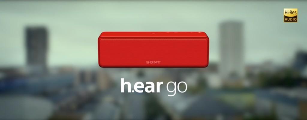 Sony h.ear go Wireless Speakers