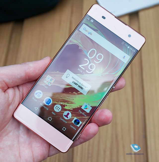 Xperia XA Hands On