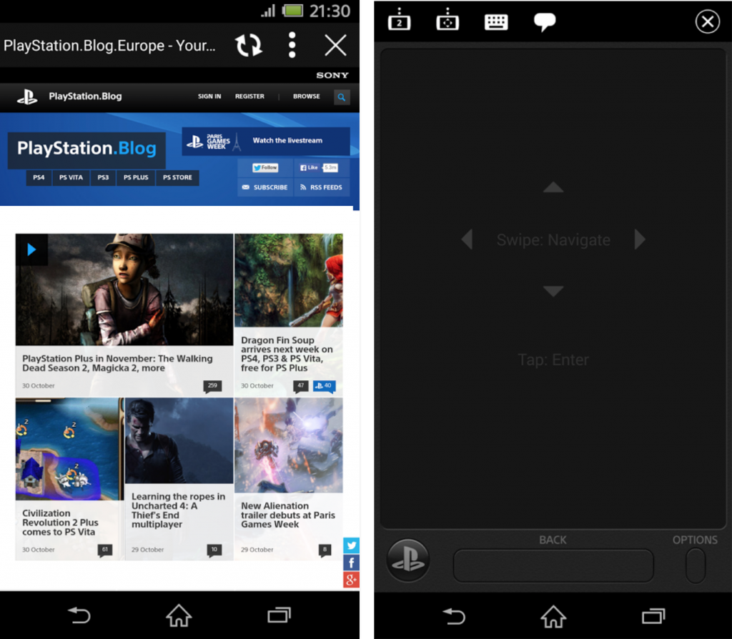 Download Sony PlayStation App