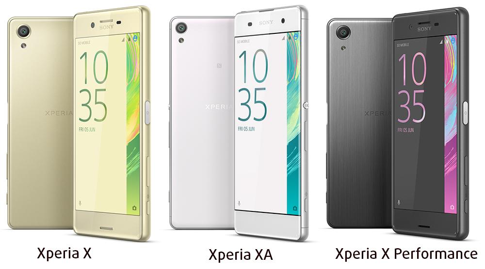 Xperia X Series Smartphones