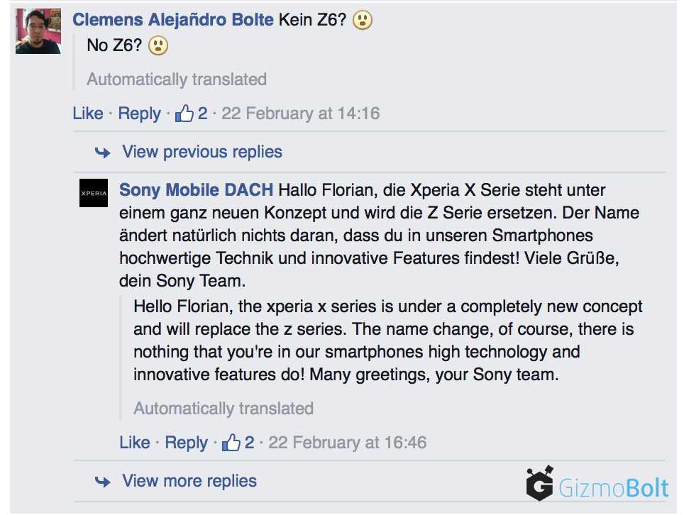 Xperia X series will replace Xperia Z series