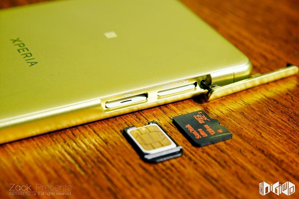 Xperia XA Lime SIM Slot