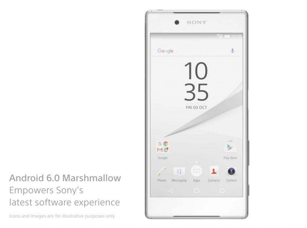 Android Marshmallow update from Sony