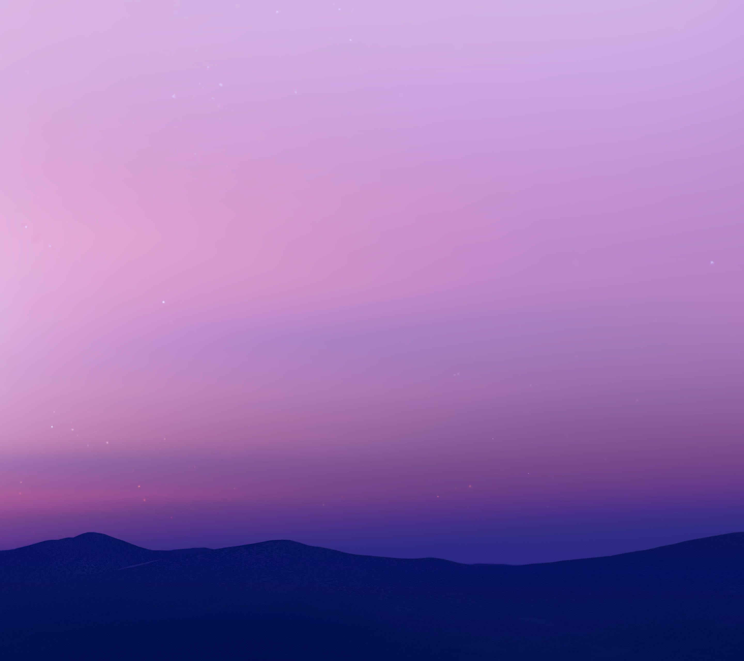 android n wallpaper bluepurple color