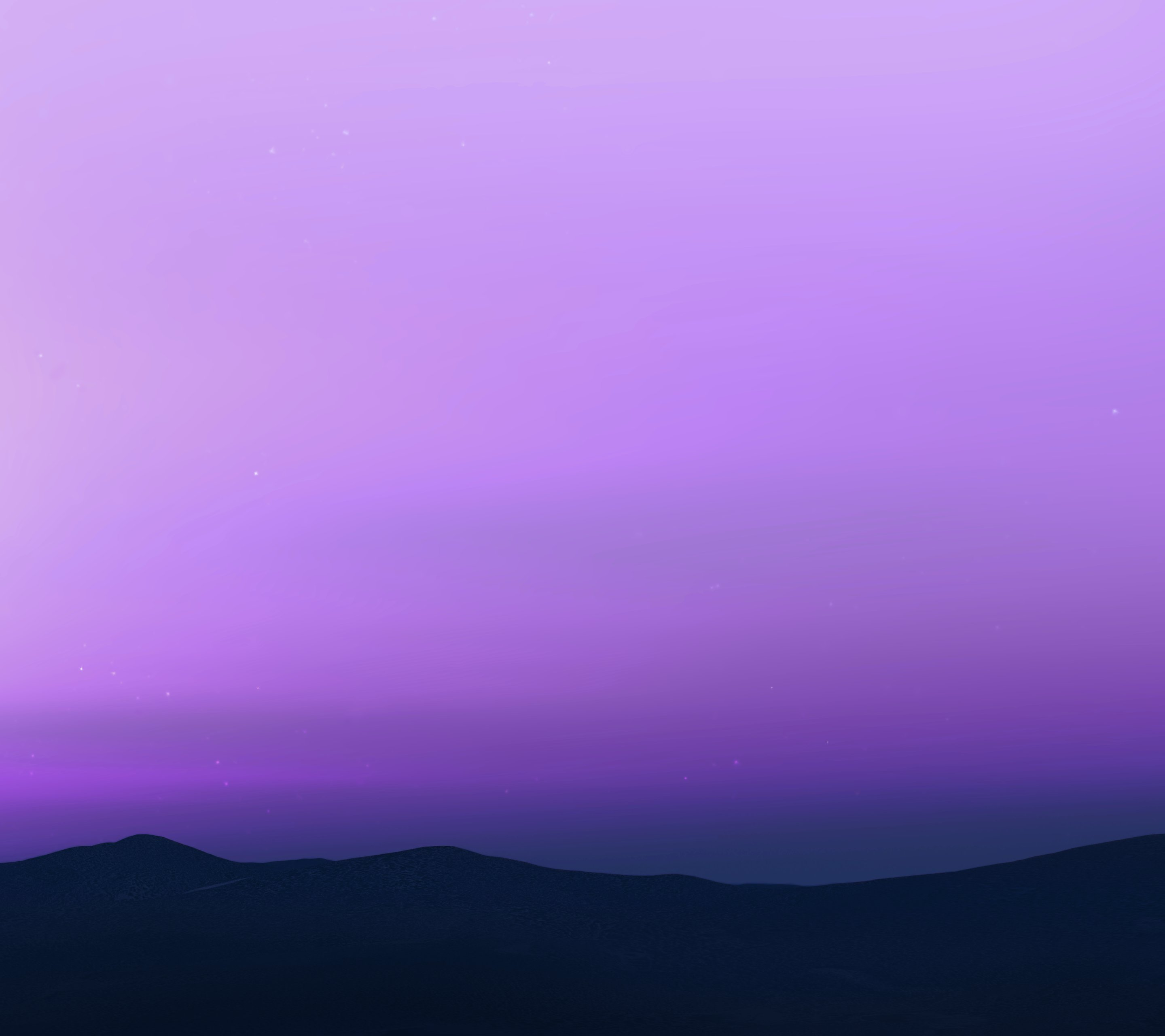 Android N Wallpaper - Purple Color