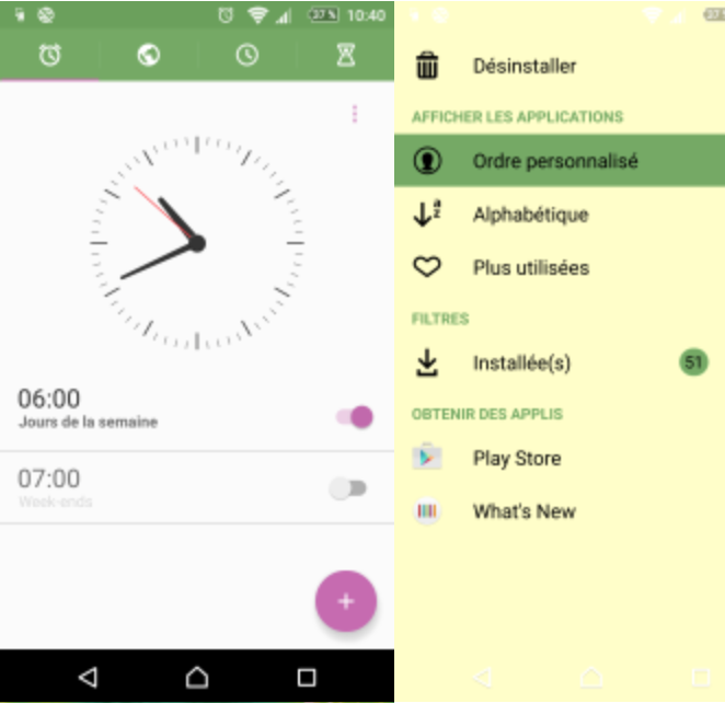 Download Xperia X Lime Theme
