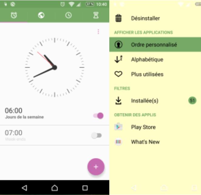 Download Xperia X Lime Theme