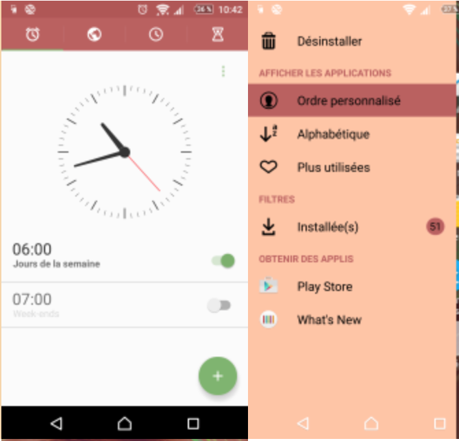 Xperia X Rose Theme apk
