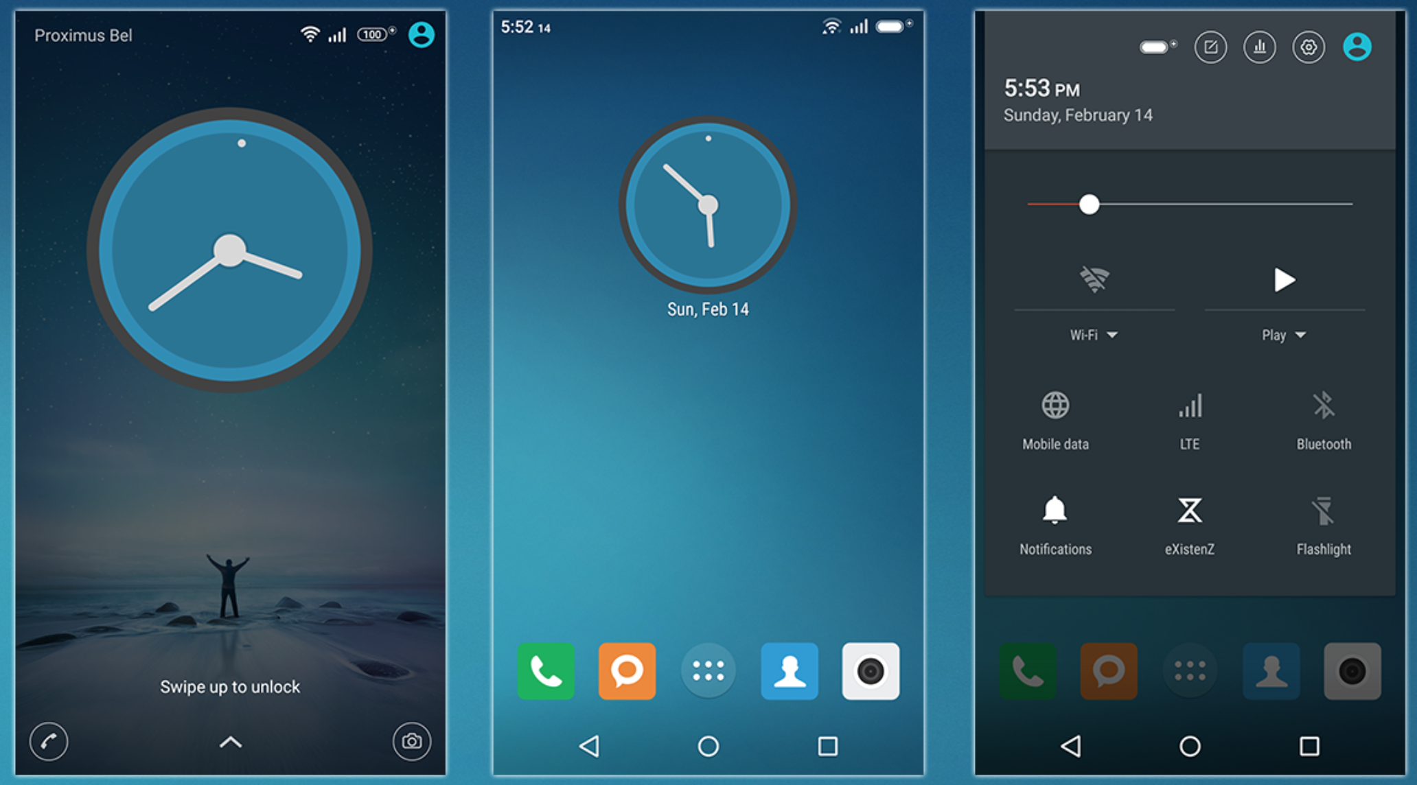 Download Xperia Theme N & Xperia MIUI v7 Theme