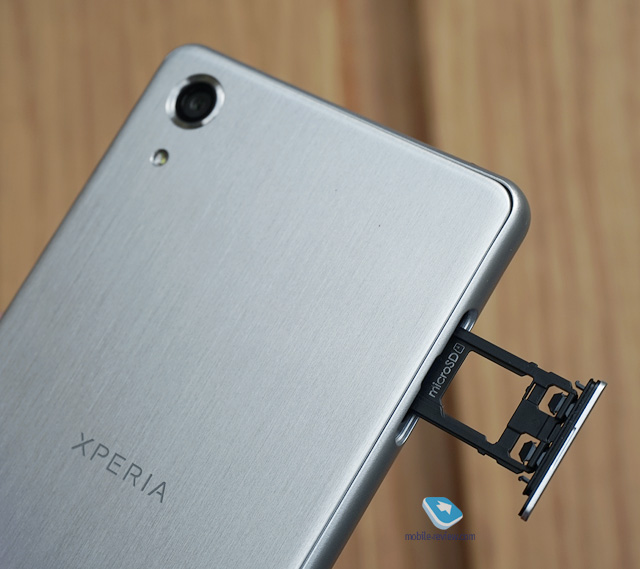 Xperia X Performance Nano SIM card slot