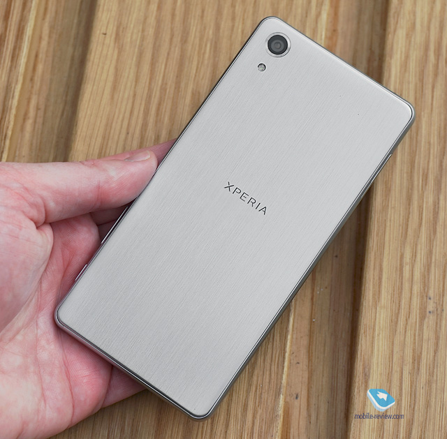 Xperia X Performance Metal Back