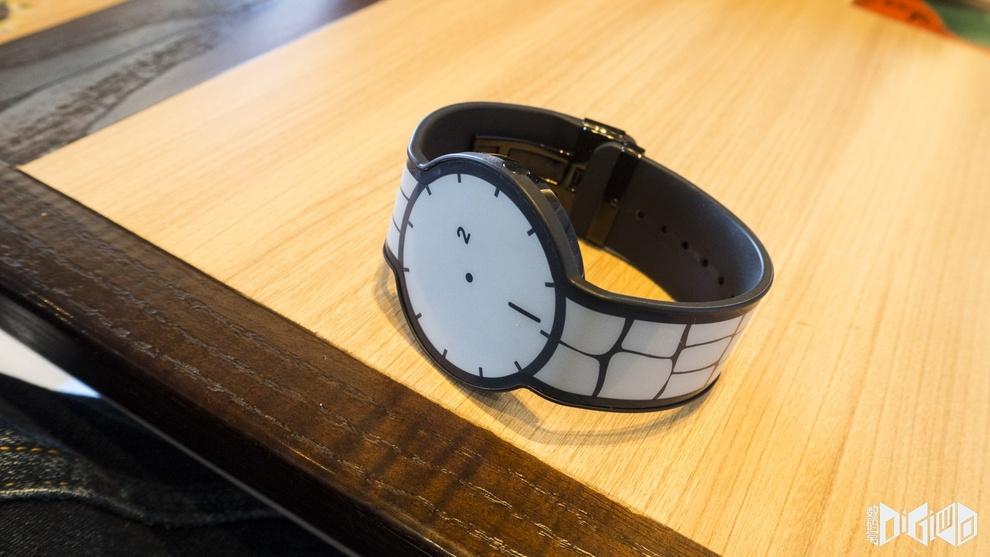 Sony's FES e-ink watch