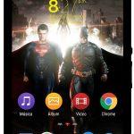 Xperia Super Man vs Batman Theme & Clock Widget