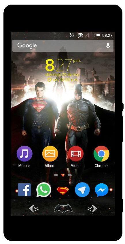 Xperia Super Man vs Batman Theme