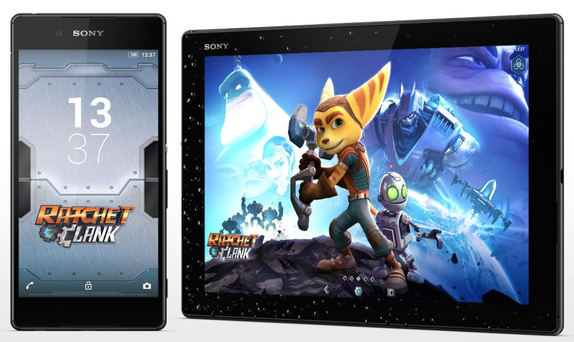 Ratchet & Clank Xperia Theme