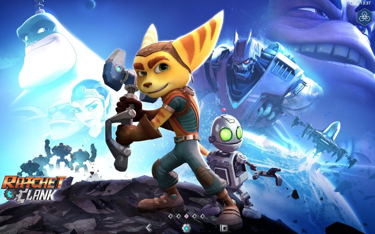 Sony Launches Ratchet Clank Xperia Theme