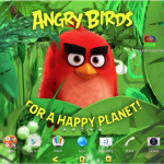 Happy Planet Xperia Theme for Lollipop running devices