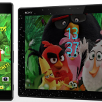 Sony released Angry Birds Happy Planet Xperia Theme