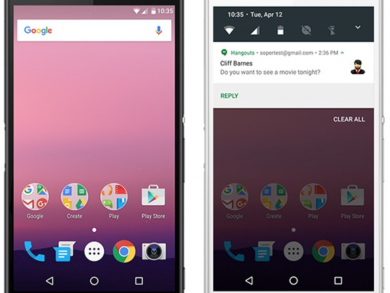 Android N Developer Preview NPC91K on Xperia Z3