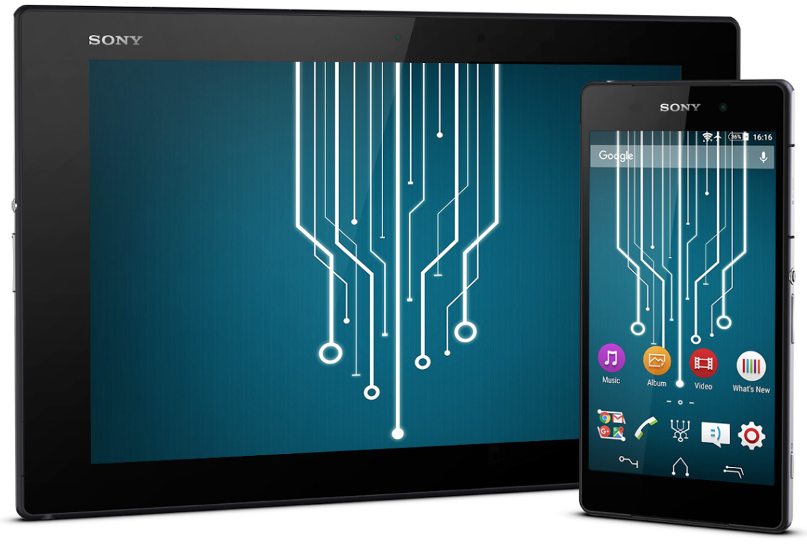Xperia Technology Theme Apk