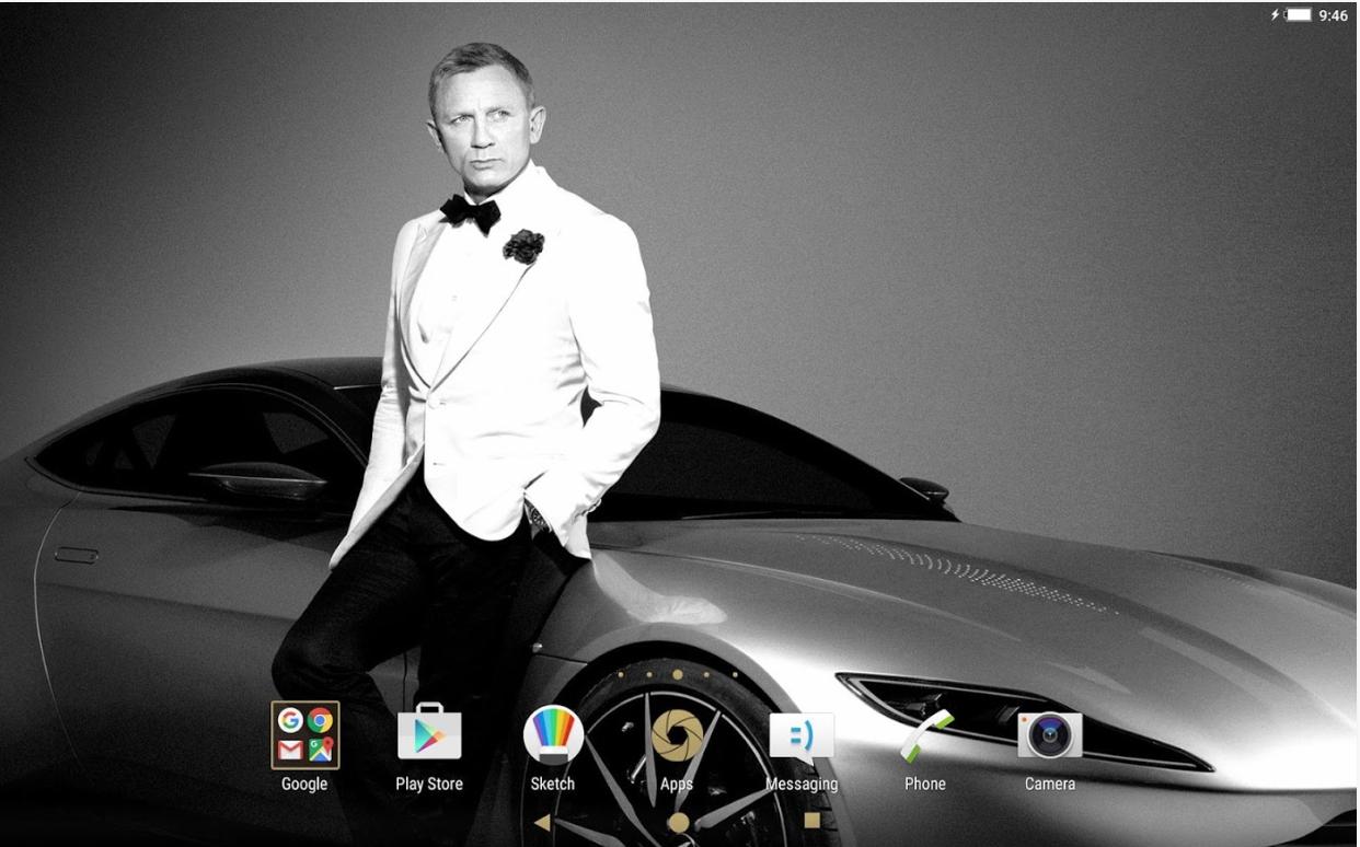 Xperia 007 Theme