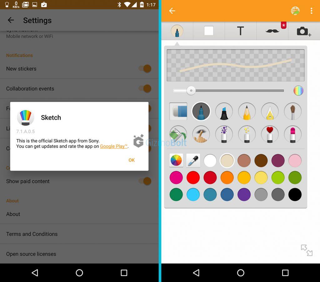 Sketch app 7.1.A.0.5 update