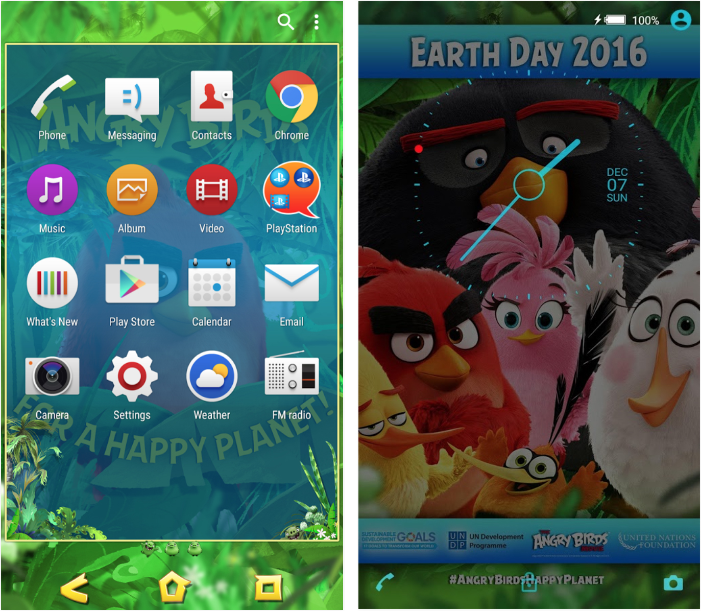 Xperia Angry Birds Theme