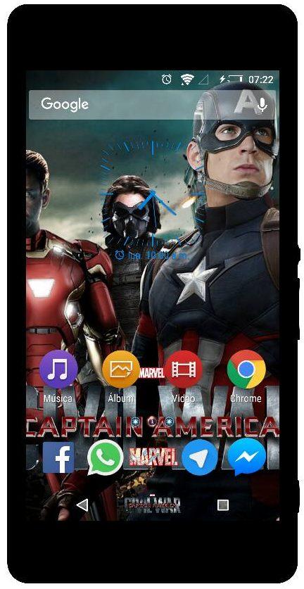 Xperia Civil War Theme