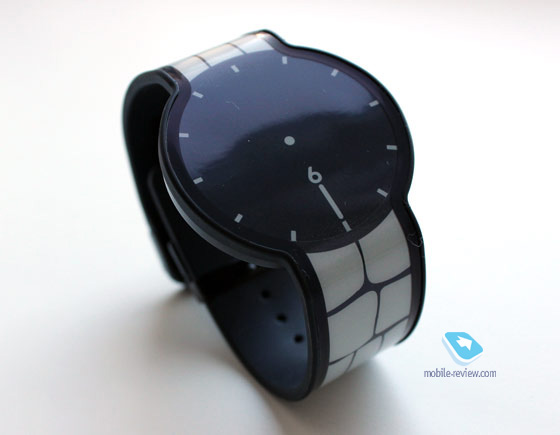 FES e-ink watch Black Dial