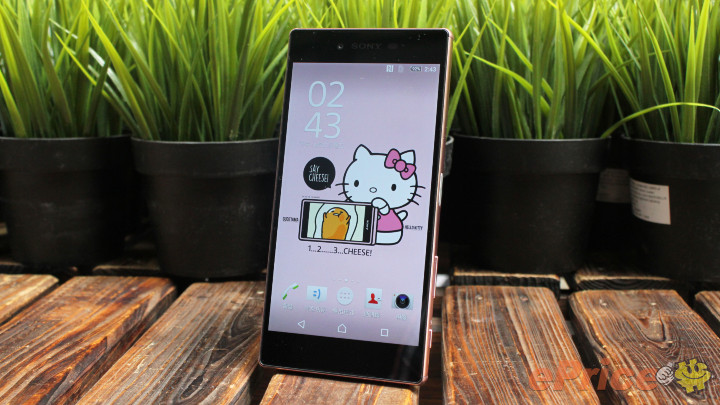 Pink Xperia Z5 Premium Hands on pics