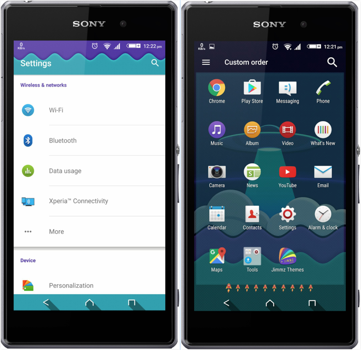 Xperia Spaceship Theme
