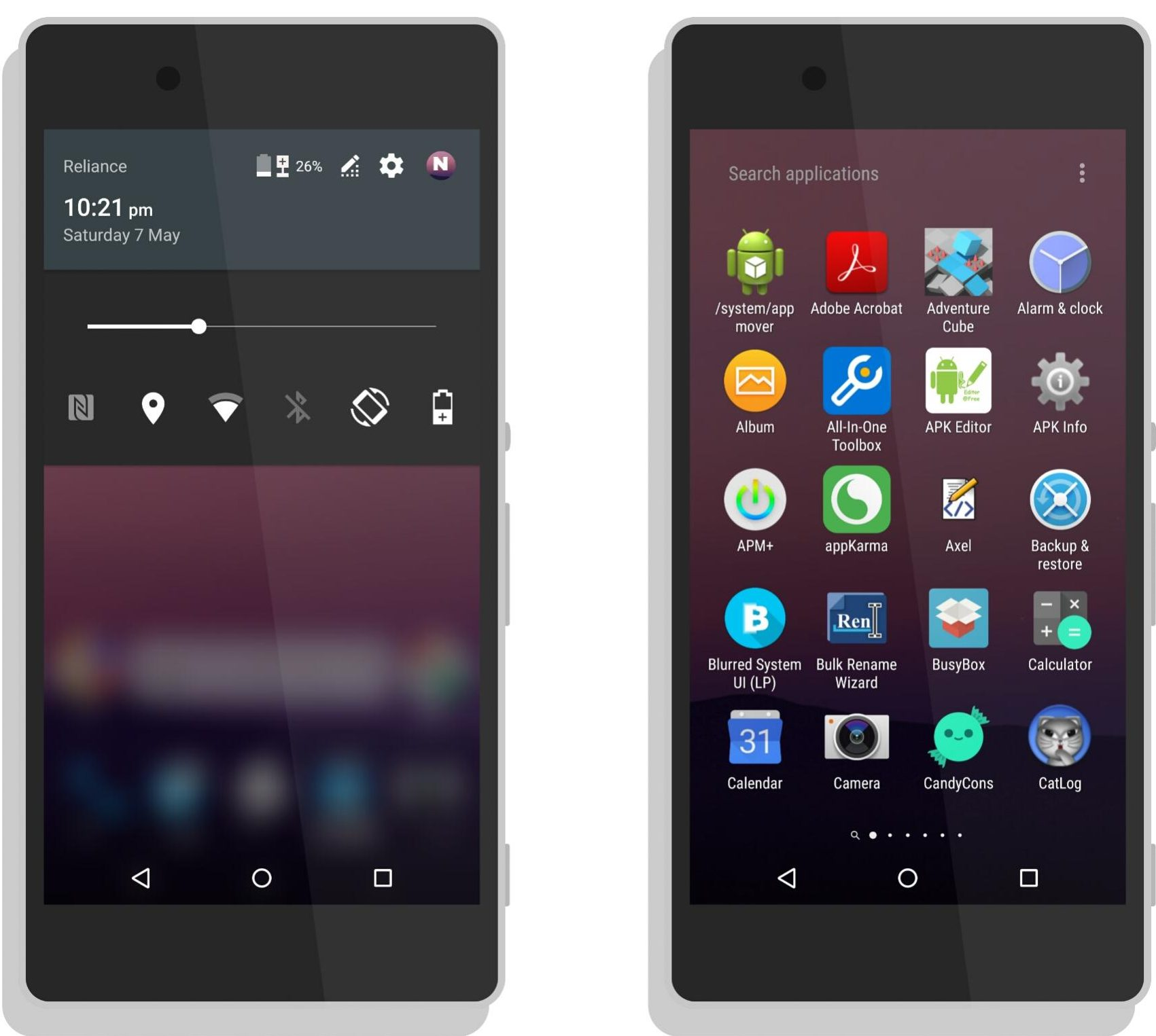 Nstyle Xperia Theme And Icon Pack