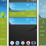 Sony Xperia Weather 1.1.A.0.30 app update brings Style Cover support for Lollipop