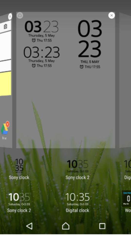 Sony Clock 20.1.A.1.9 app