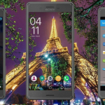 Xperia Material X Dreamer & Eiffel Tower Romantic Theme