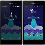 Xperia Materia SpaceShip & Nstyle Xperia Theme with Icon Pack