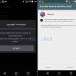 Device Administrator Hexlock app