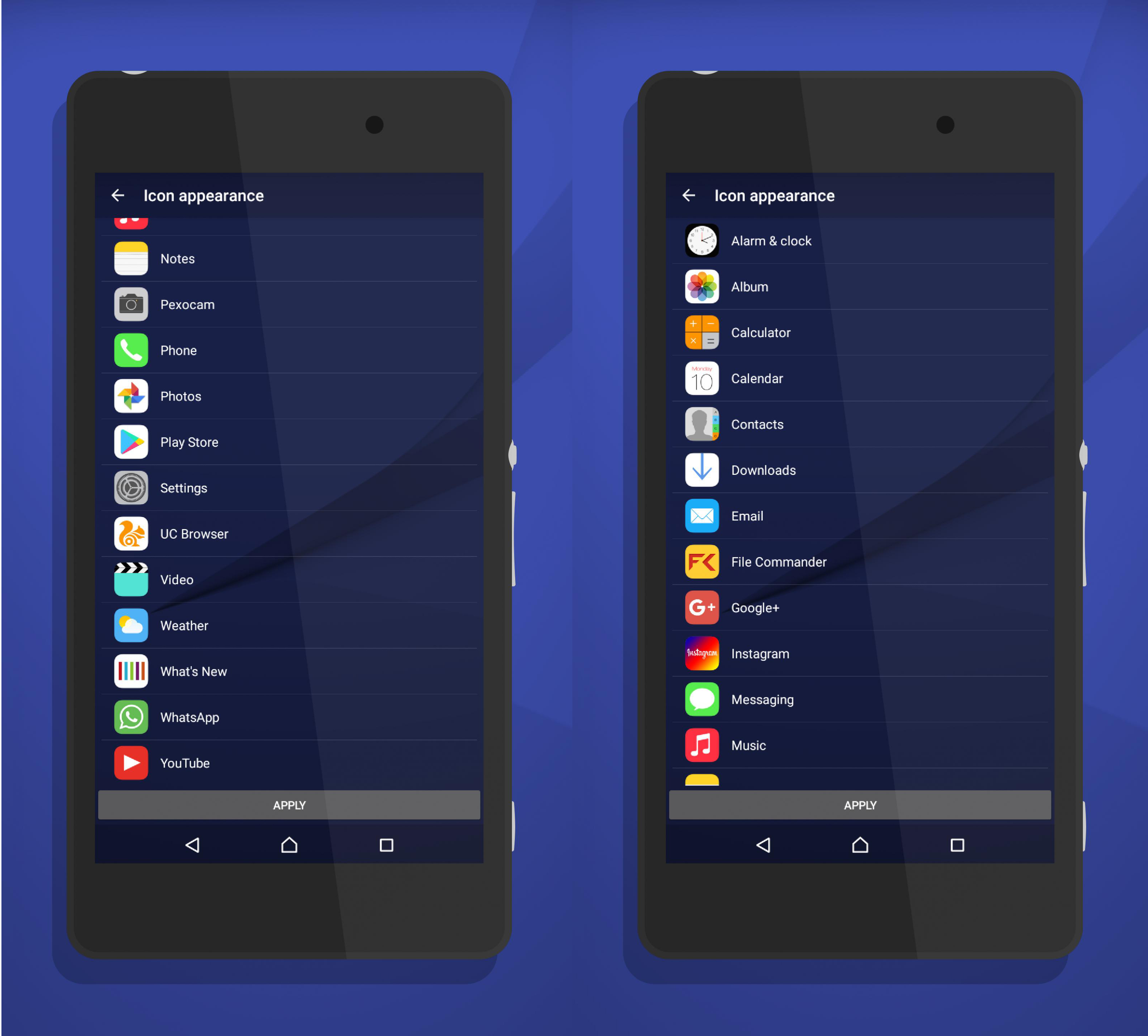 Ios Style Icon Pack For Sony Xperia Amp Nova Launcher
