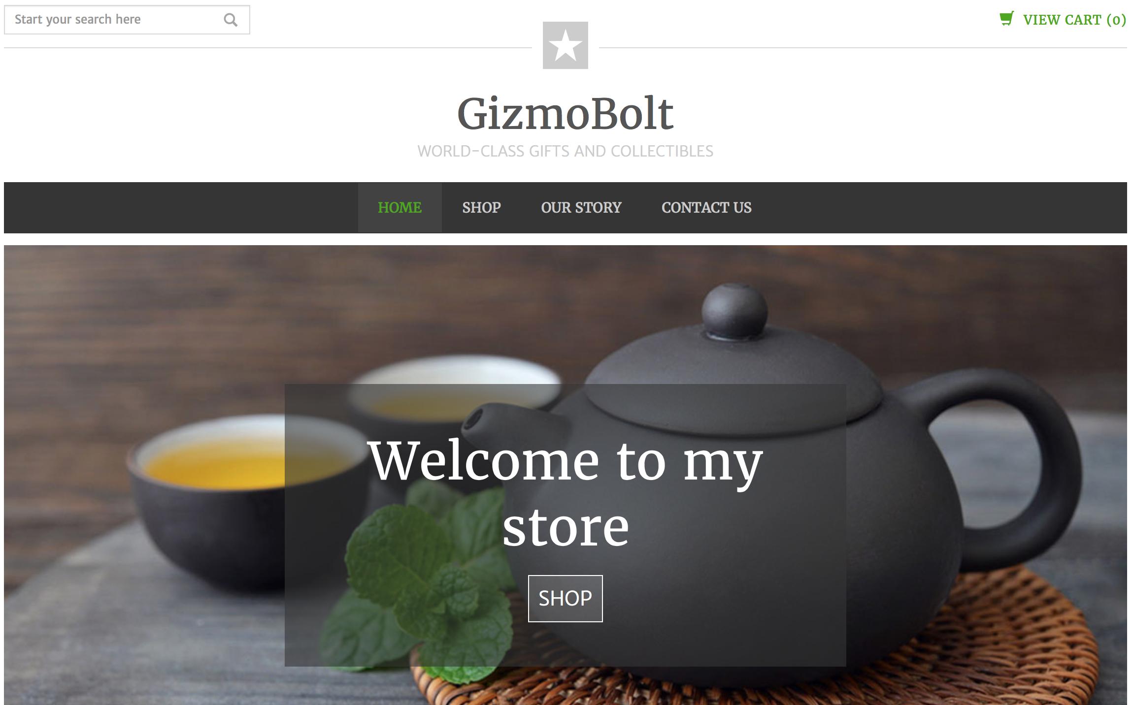 GizmoBolt GoDaddy Online Store