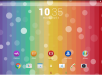 Xperia Rainbow Bubbles Theme